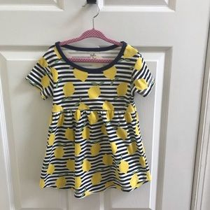 Lemon Dress 3T